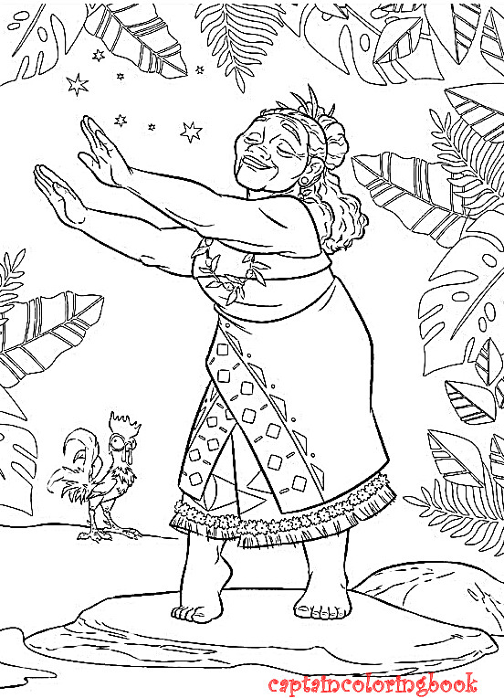 Moana Coloring Pages Pdf  Disney Moana coloring pages free ebook Coloring