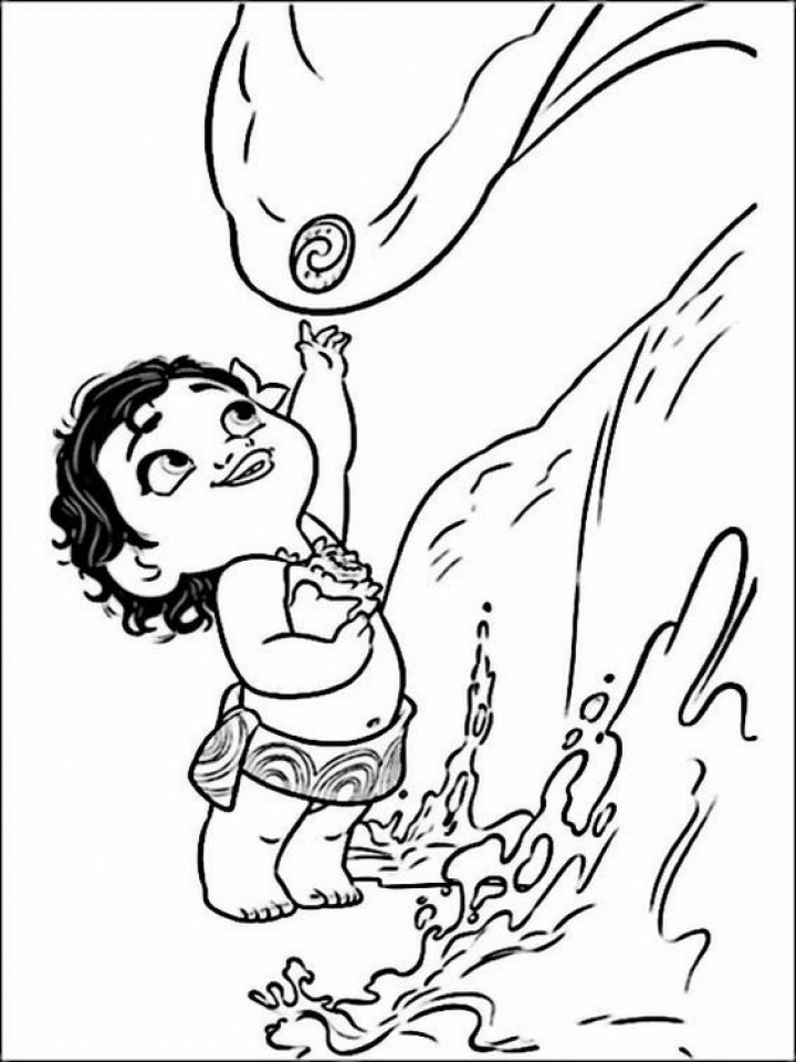 Moana Coloring Pages Pdf  Get This Disney Princess Moana Coloring Pages to Print BN00M