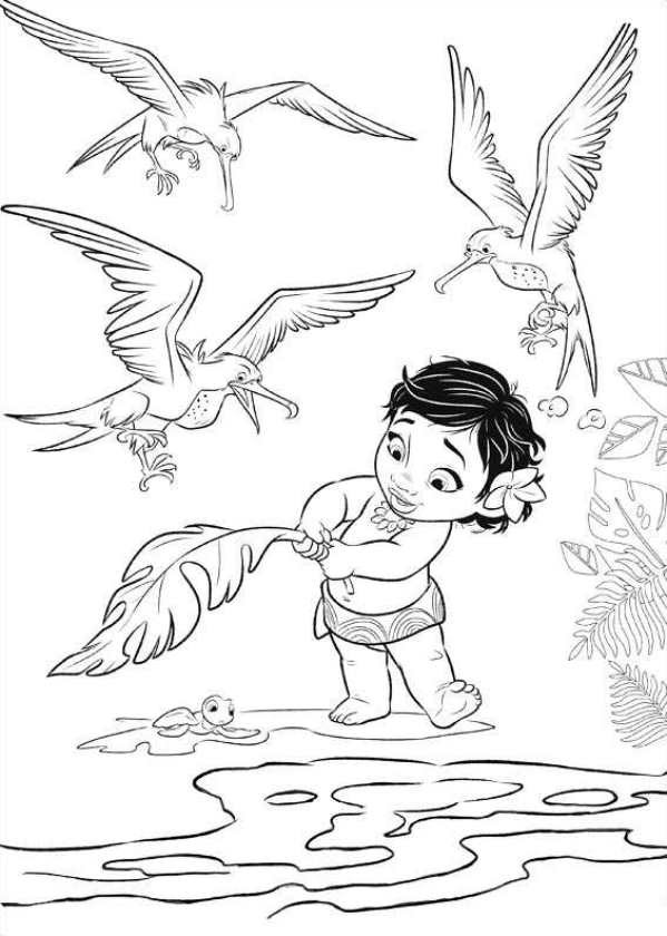 Moana Coloring Pages Pdf  Moana Coloring Pages Best Coloring Pages For Kids
