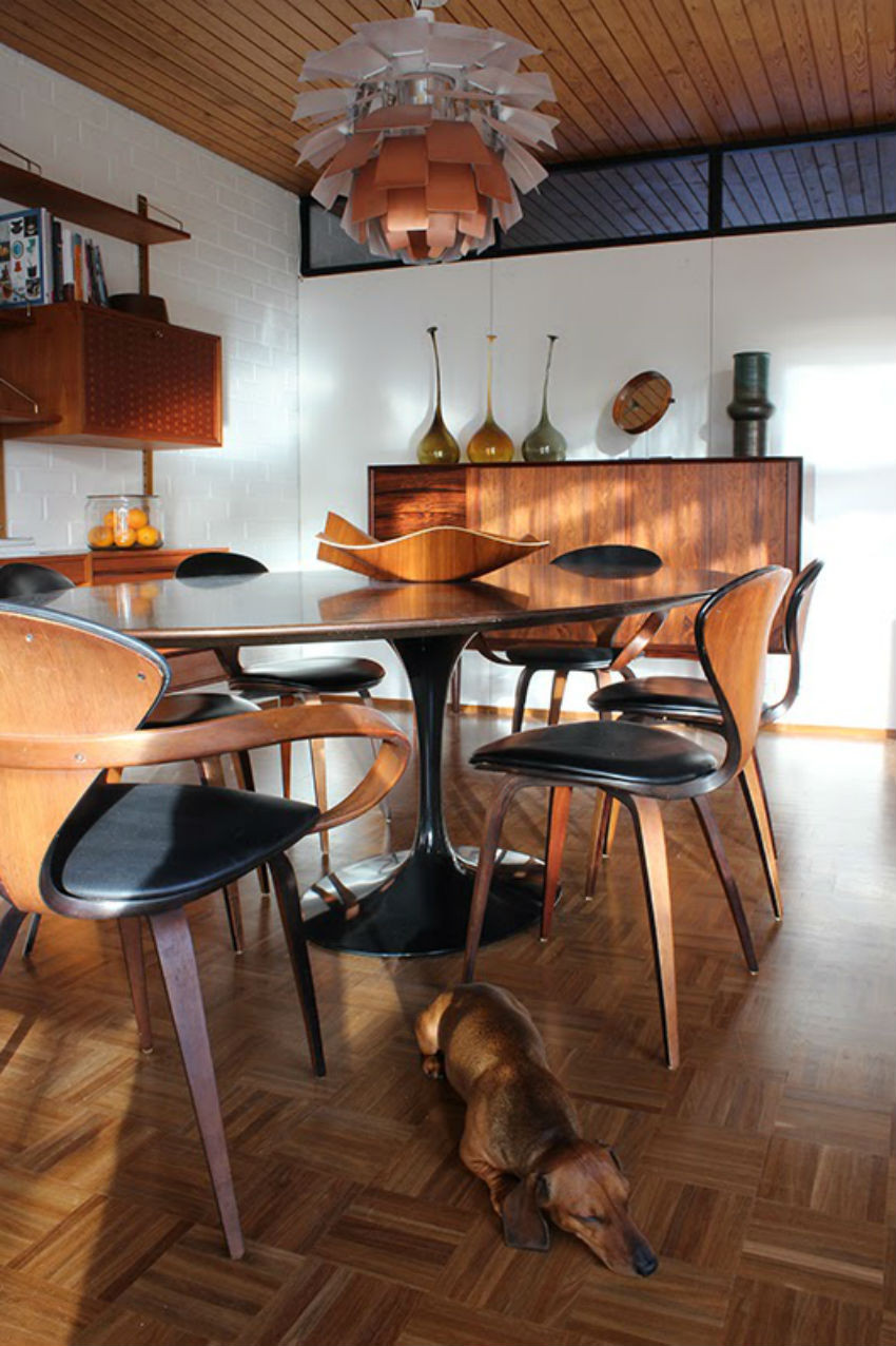 Best ideas about Modern Dining Table Set . Save or Pin 7 Inspirational mid century modern dining room sets Now.