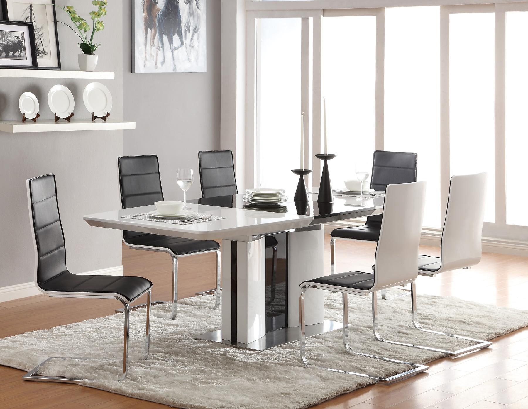 Best ideas about Modern Dining Table Set . Save or Pin Contemporary Dining Room Sets for Beloved Family Traba Homes Now.