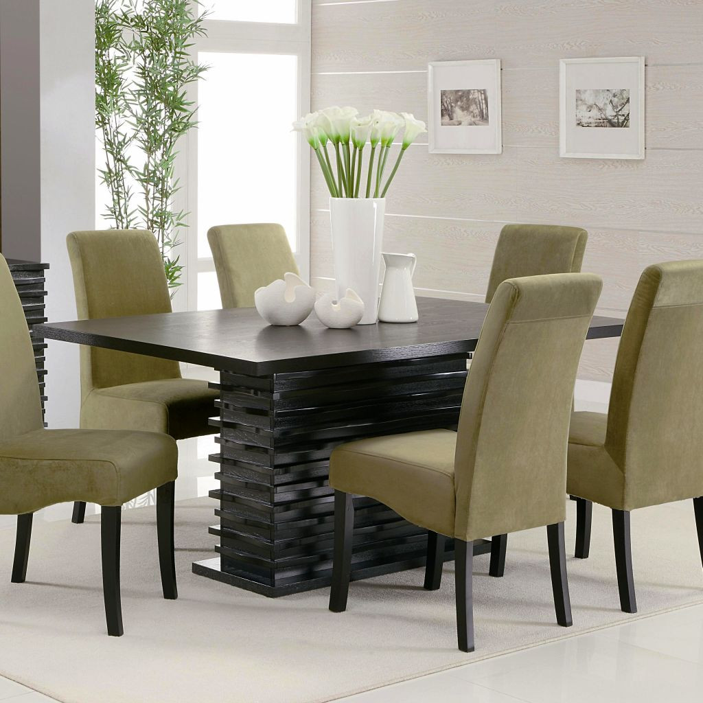 Best ideas about Modern Dining Table Set . Save or Pin modern dining table chairs designs Now.