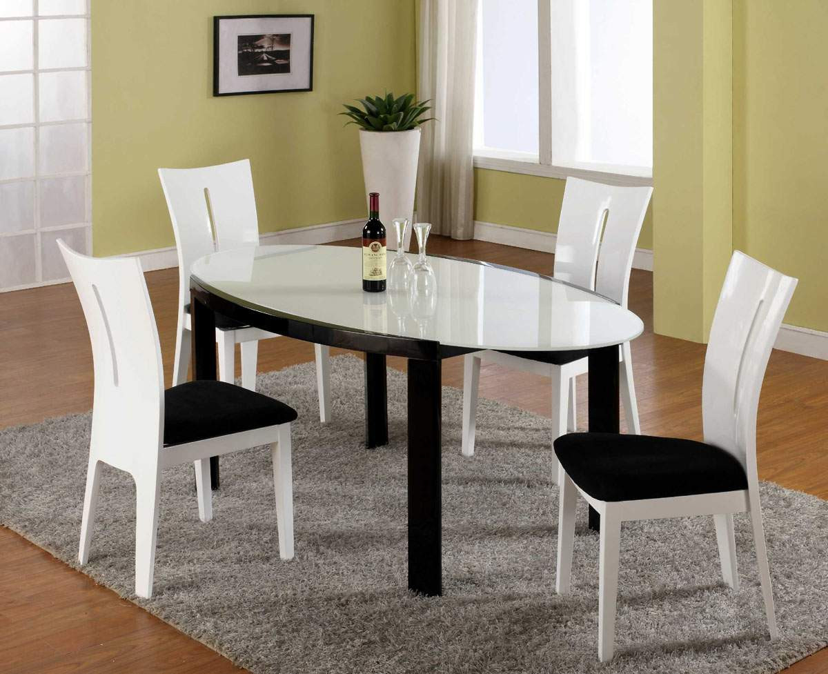 Best ideas about Modern Dining Table Set . Save or Pin Contemporary Glass Dining Room Sets Now.