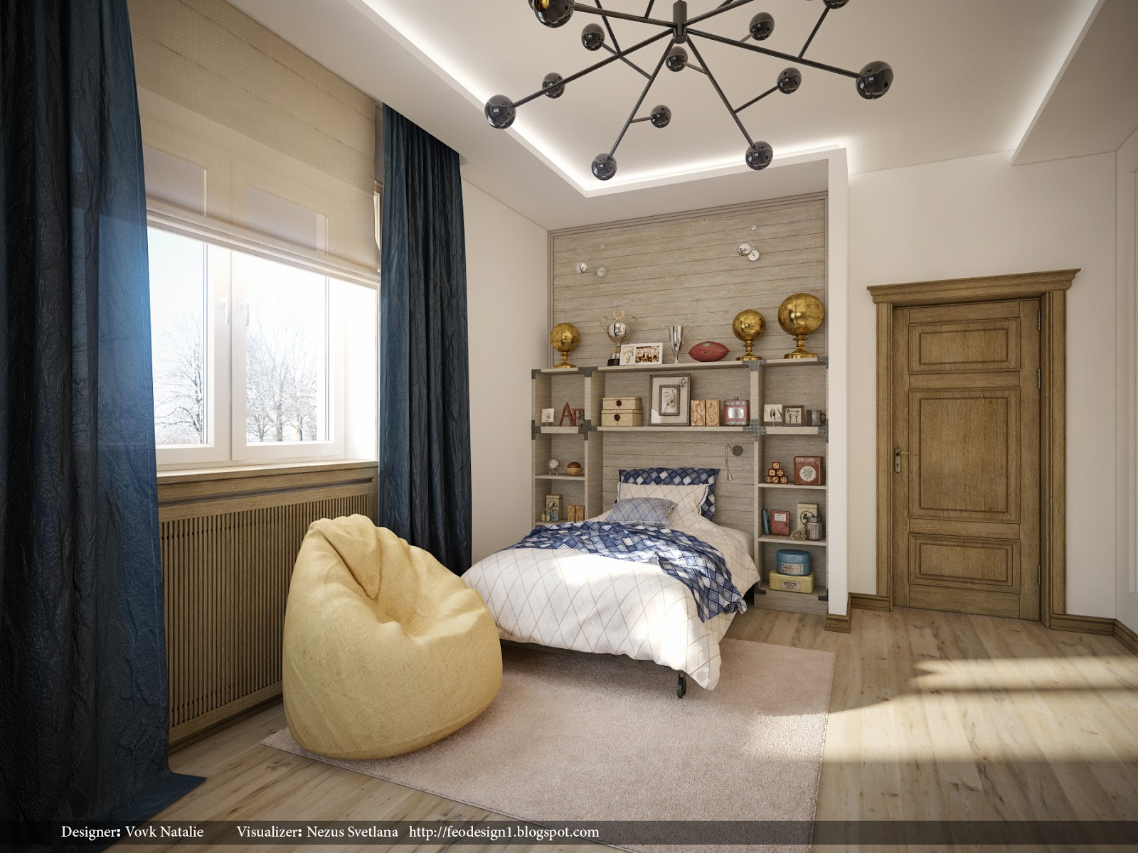 Best ideas about Modern Kids Room . Save or Pin Pretty Contemporary Interiors Now.