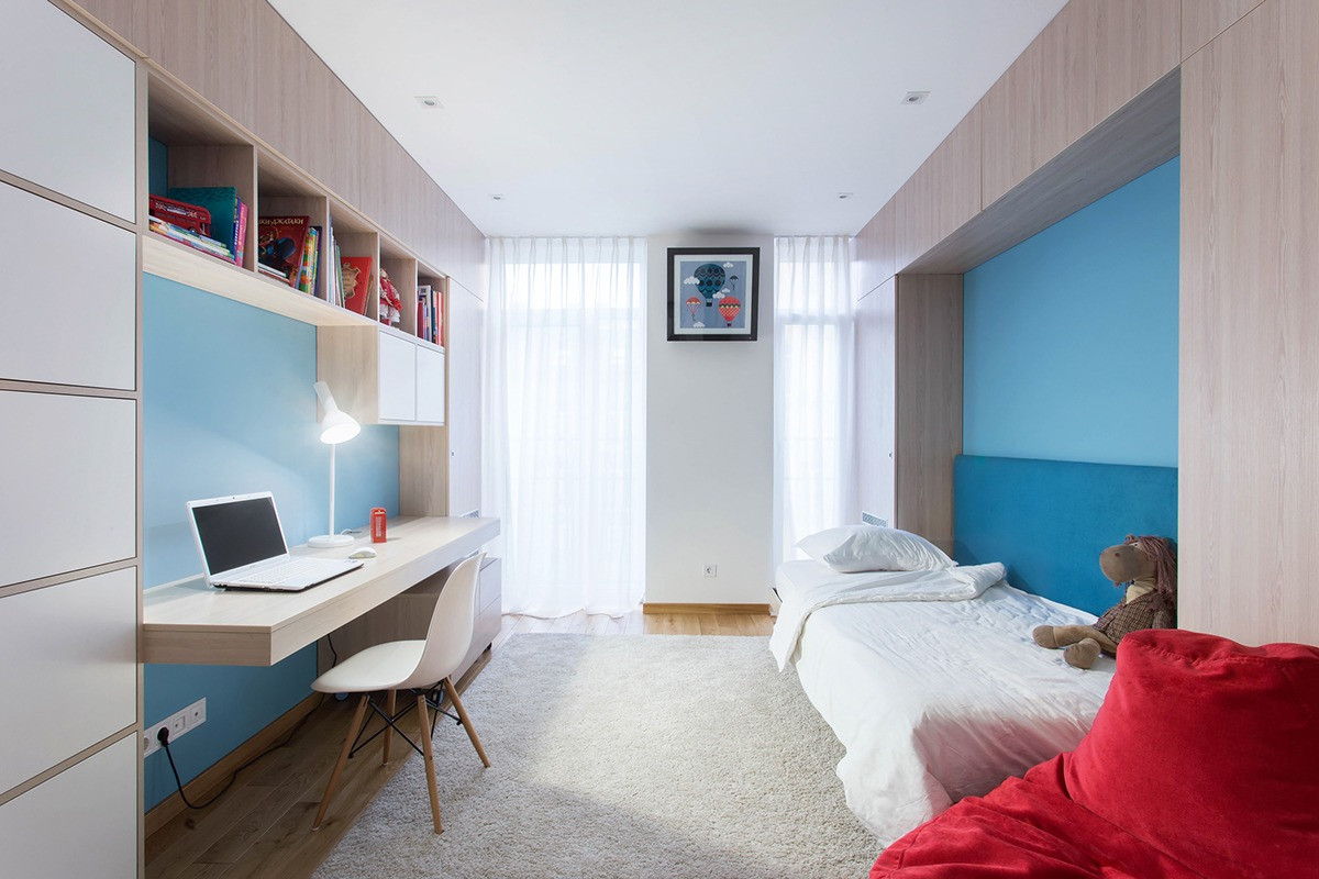 Best ideas about Modern Kids Room . Save or Pin Two Modern Homes With Rooms For Small Children [With Floor Now.