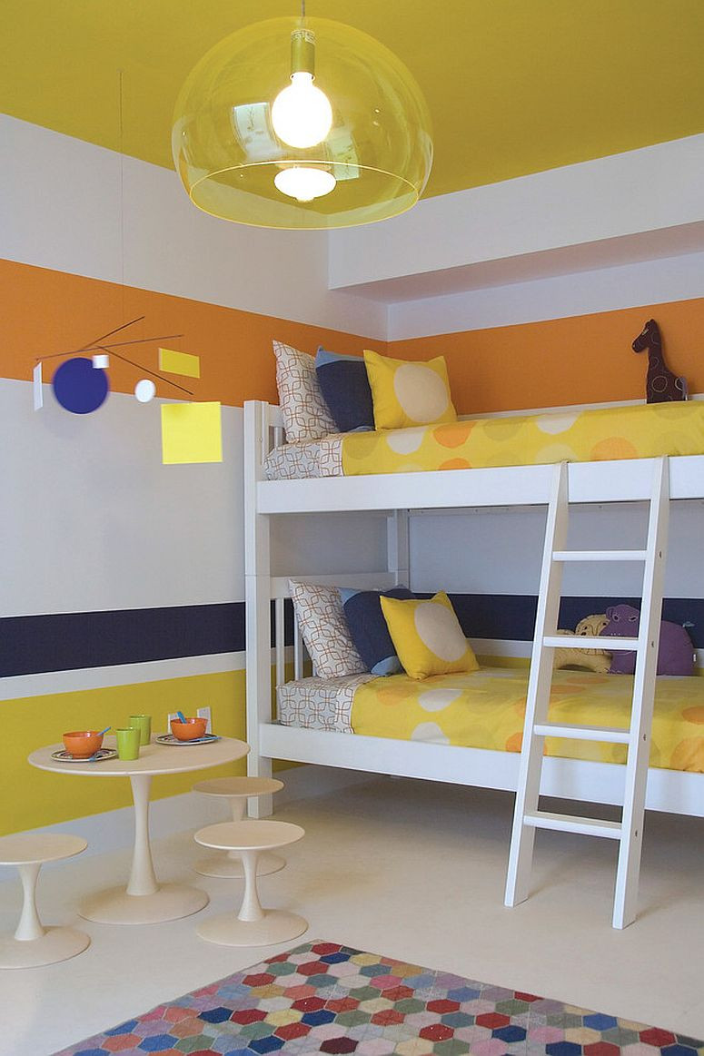 Best ideas about Modern Kids Room . Save or Pin Trendy and Timeless 20 Kids' Rooms in Yellow and Blue Now.