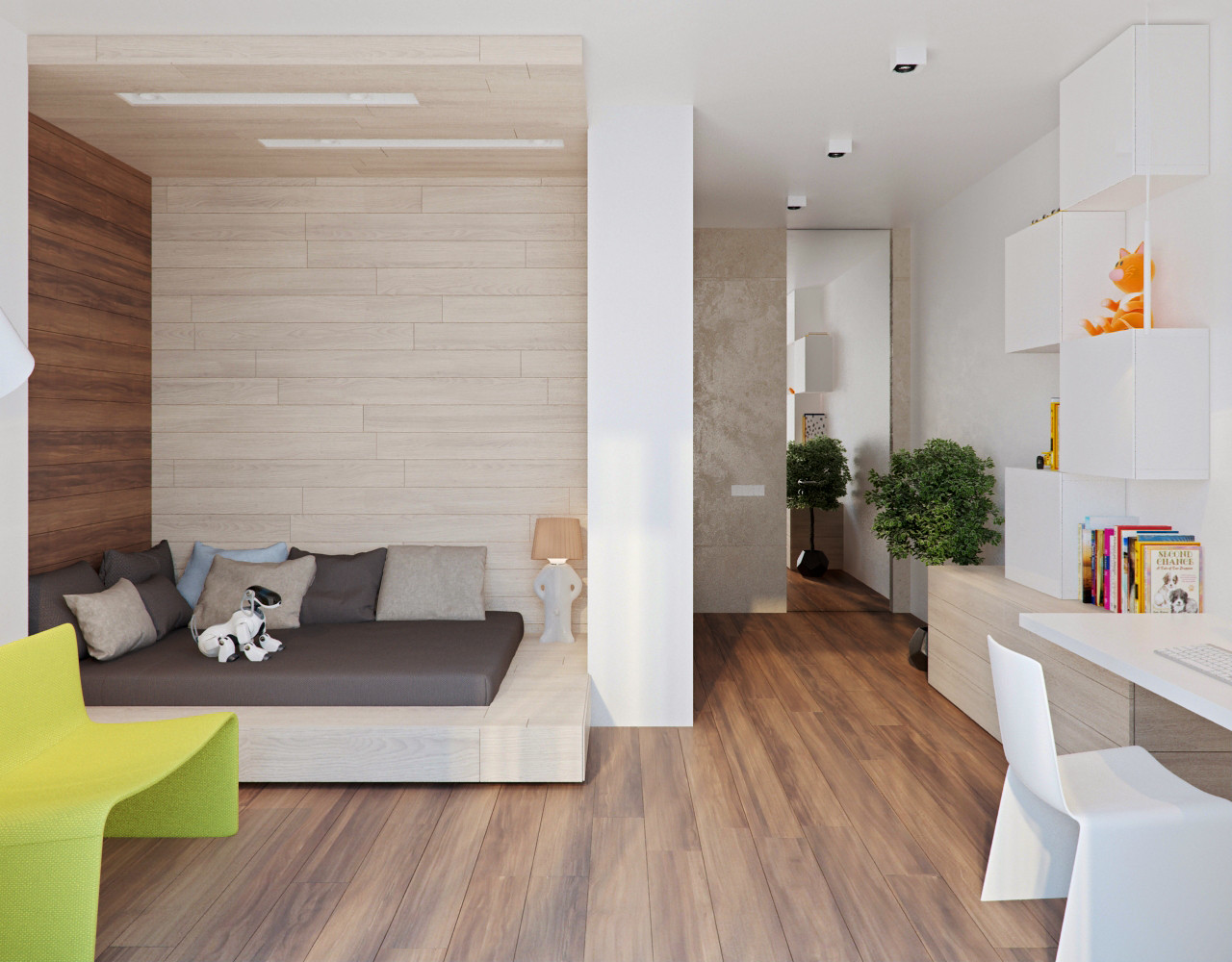 Best ideas about Modern Kids Room . Save or Pin Stone and Wood Home with Creative Fixtures Now.