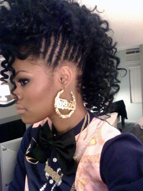Mohawk Hairstyle For Little Girls  Mohawk Hairstyles For Black Women