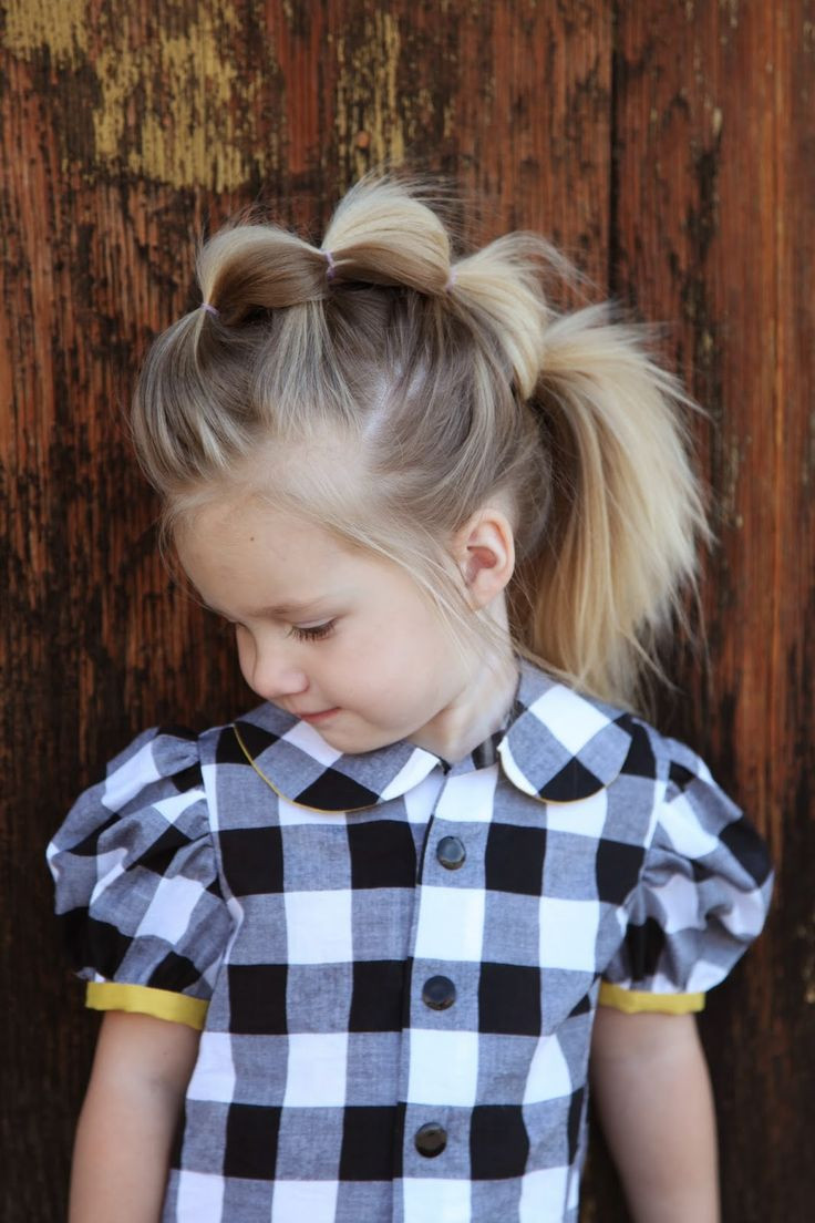 Mohawk Hairstyle For Little Girls  17 Super Cute Hairstyles for Little Girls Pretty Designs