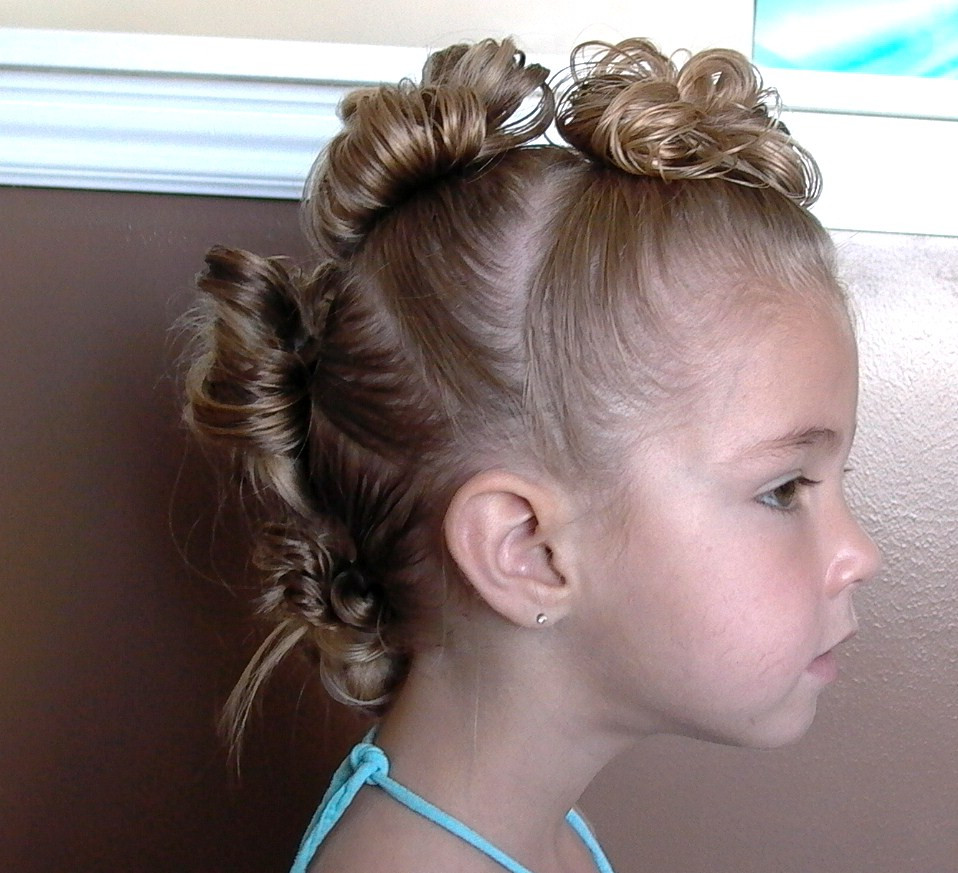 Mohawk Hairstyle For Little Girls  Little Girl's Hairstyles The Mohawk and The Tiara Stuffed