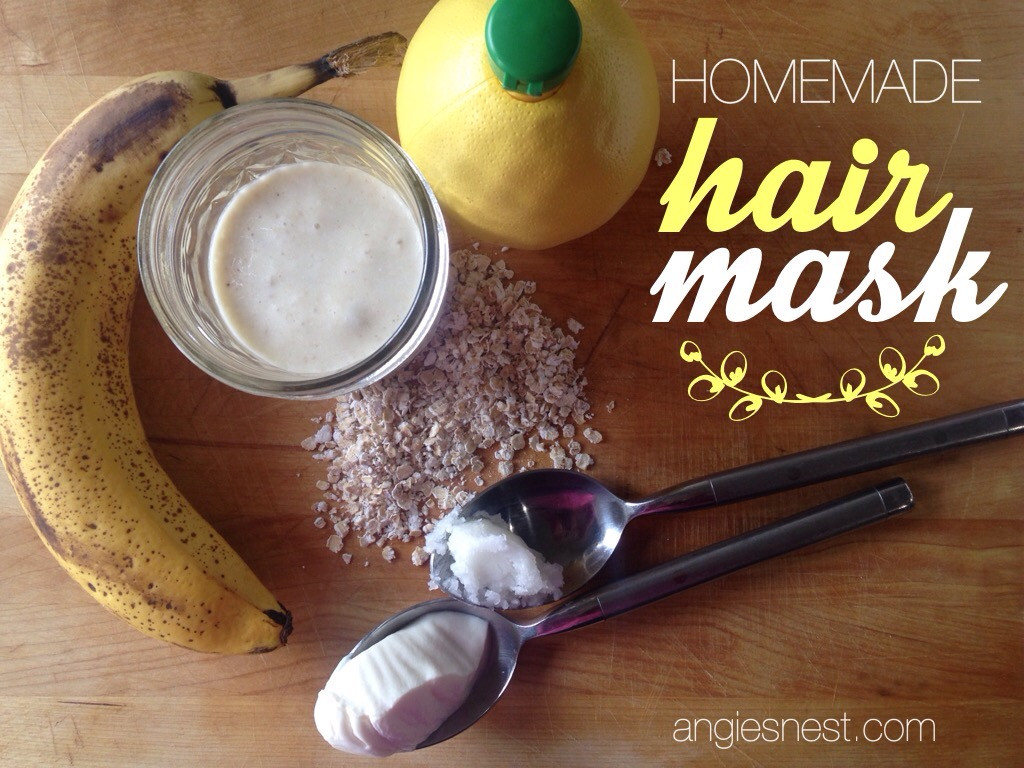 Moisturizing Hair Mask DIY  Homemade Hair Mask for Moisturizing