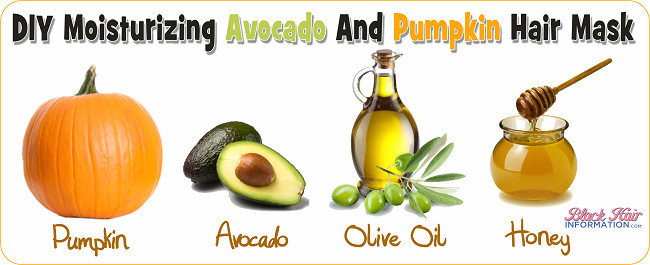 Moisturizing Hair Mask DIY  A DIY Moisturizing Avocado And Pumpkin Hair Mask For Dry