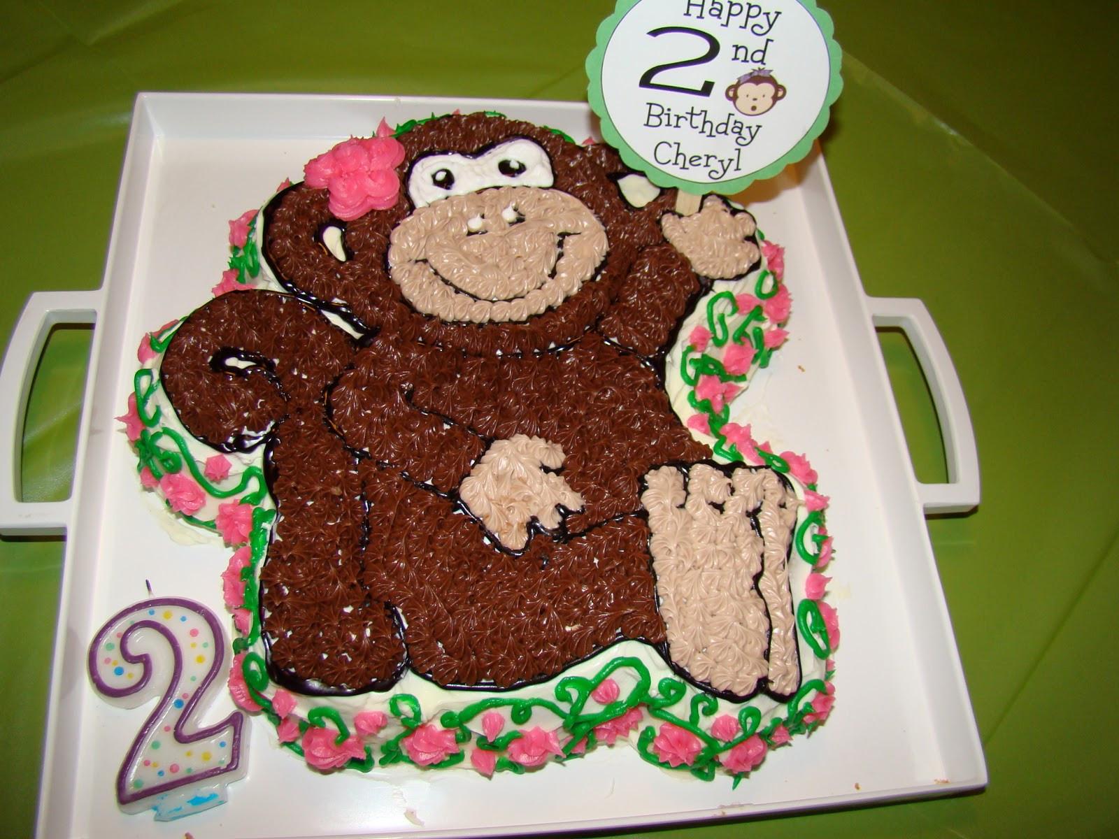 Monkey Birthday Party  HECK FRIDAYS Monkey Birthday Party