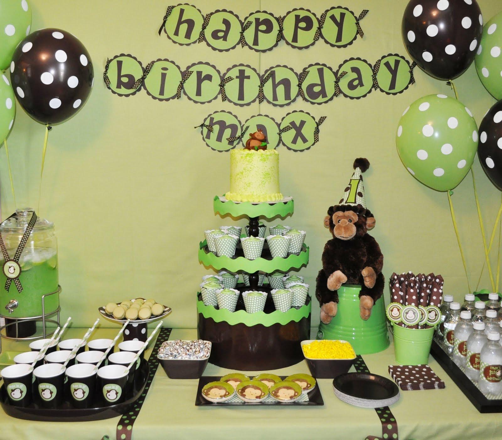 Monkey Birthday Party  FREE Printable Little Monkey Birthday Invitation Template