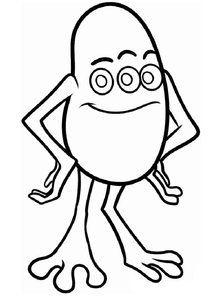 Monster Coloring Book  Monsters inc coloring pages Download and print Monsters