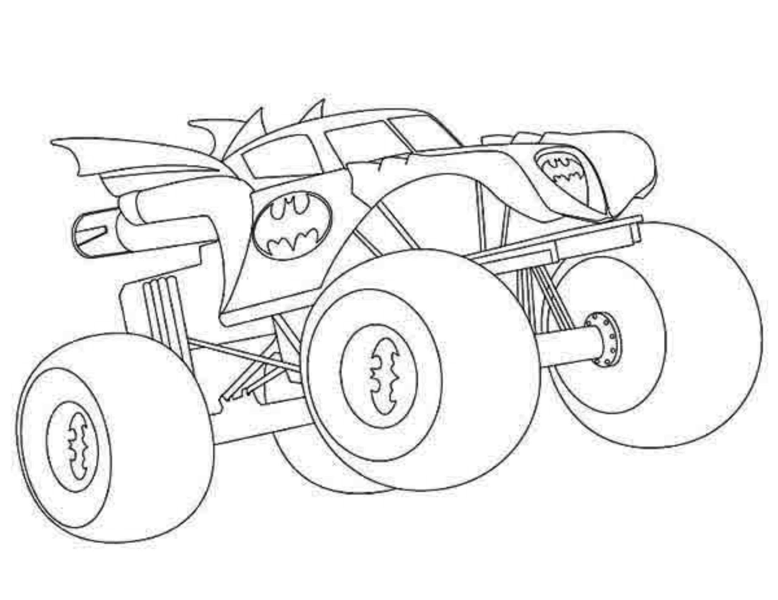 Monster Trucks Coloring Pages  Monster Truck Coloring Pages For Kids AZ Coloring Pages