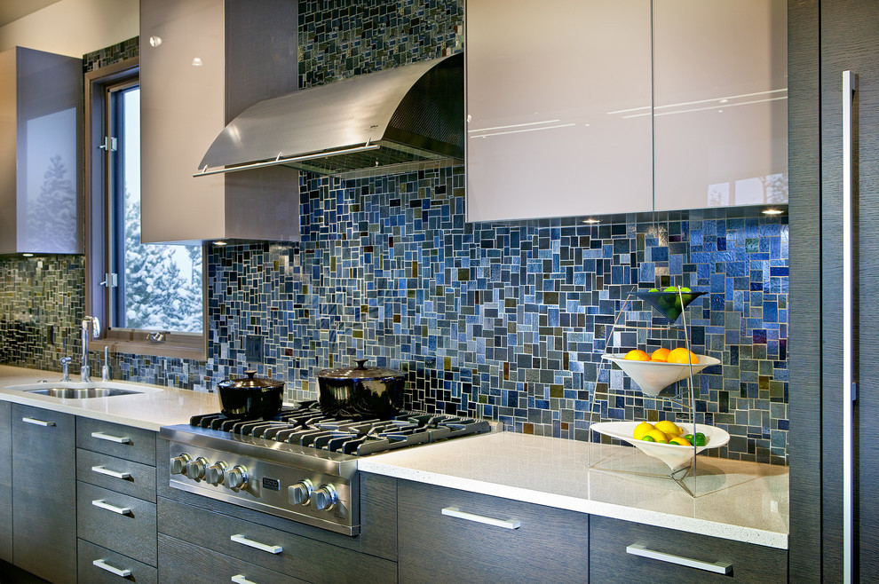 Best ideas about Mosaic Tile Backsplash Kitchen Ideas . Save or Pin 18 Gleaming Mosaic Kitchen Backsplash Designs Now.