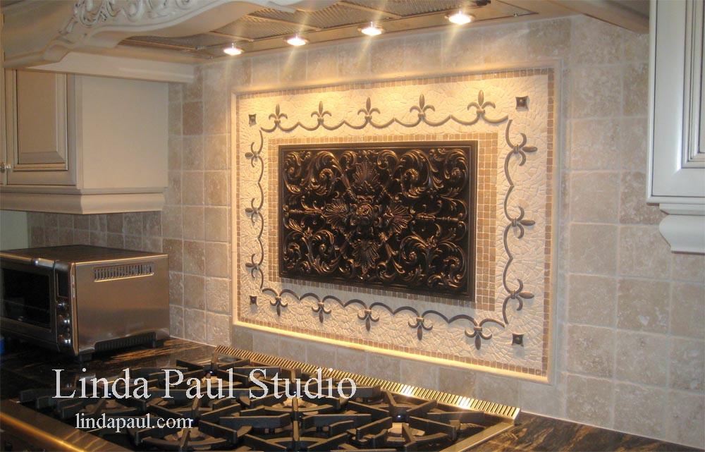 Best ideas about Mosaic Tile Backsplash Kitchen Ideas . Save or Pin Kitchen Backsplash Ideas and Designs of Backsplashes Now.