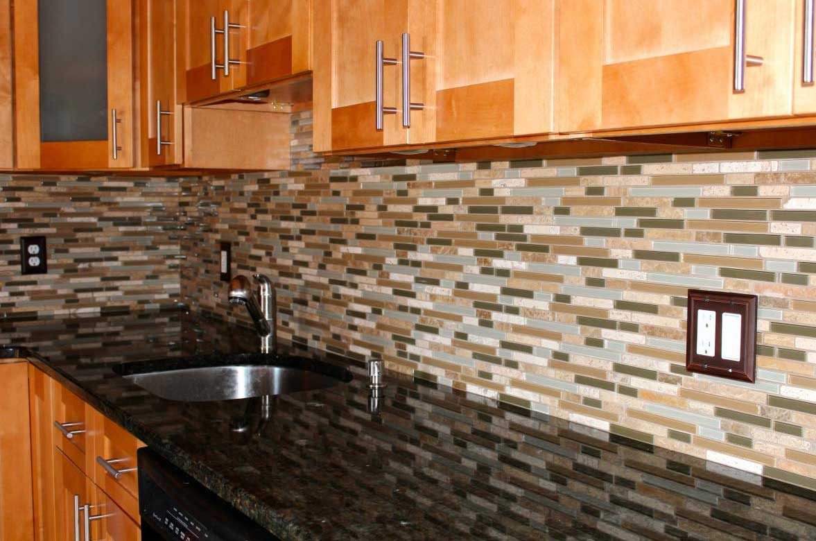 Best ideas about Mosaic Tile Backsplash Kitchen Ideas . Save or Pin Mosaic glass tiles for kitchen backsplashes ideas Now.