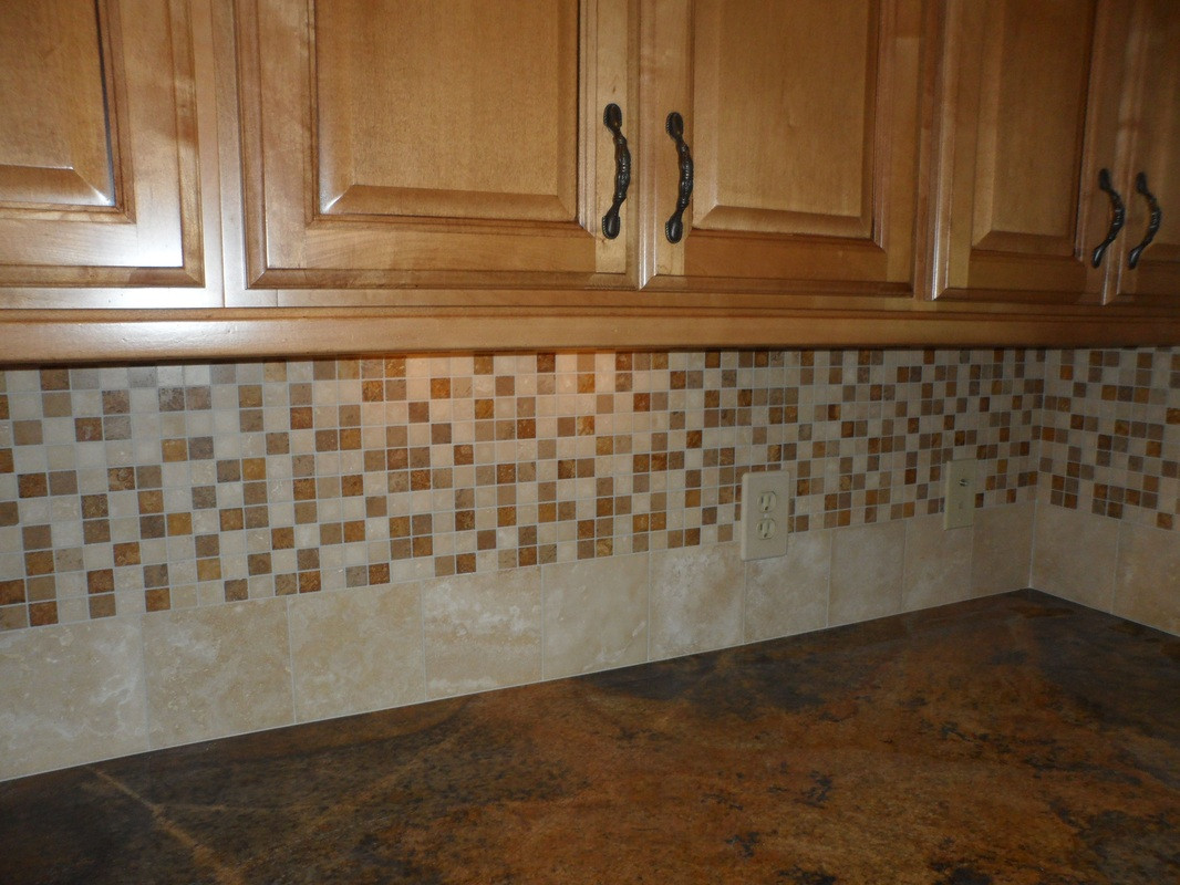Best ideas about Mosaic Tile Backsplash Kitchen Ideas . Save or Pin Nice Mosaic Tile Kitchen Backsplash — Home Ideas Collection Now.