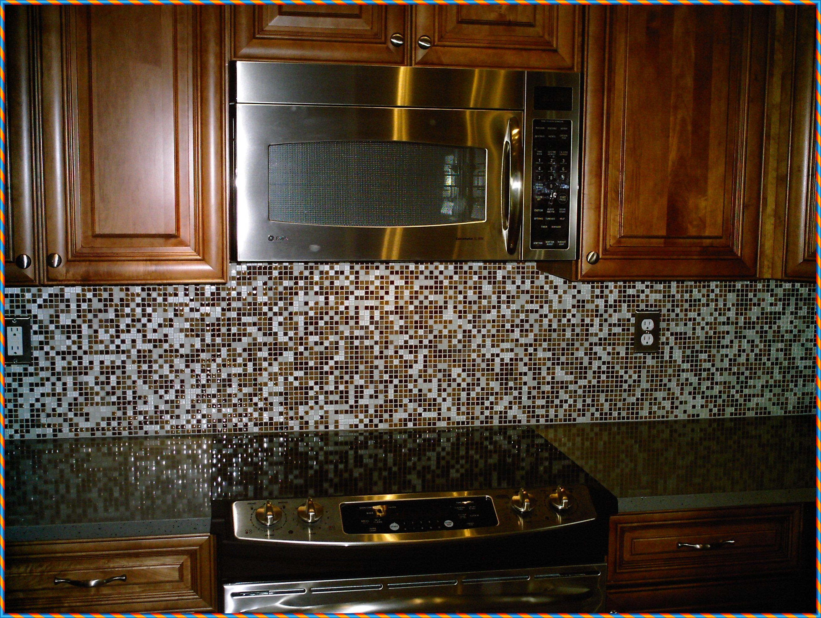 Best ideas about Mosaic Tile Backsplash Kitchen Ideas . Save or Pin Mosaic Tile Backsplash Kitchen Ideas Horner H&G Now.