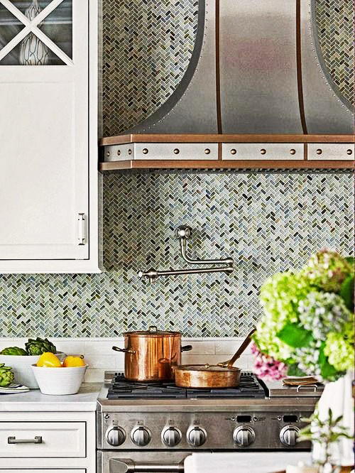 Best ideas about Mosaic Tile Backsplash Kitchen Ideas . Save or Pin Make a Statement with a Trendy Mosaic Tile for the Kitchen Now.