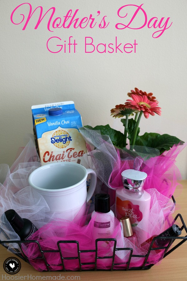 Best ideas about Mother Day Gift Basket Ideas Homemade . Save or Pin Mother s Day Gift Basket Hoosier Homemade Now.