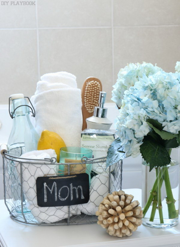 Best ideas about Mother Day Gift Basket Ideas Homemade . Save or Pin 30 Meaningful Handmade Gifts for Mom Now.