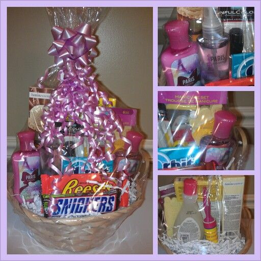 Best ideas about Mother Day Gift Basket Ideas Homemade . Save or Pin 17 best Gift Baskets images on Pinterest Now.