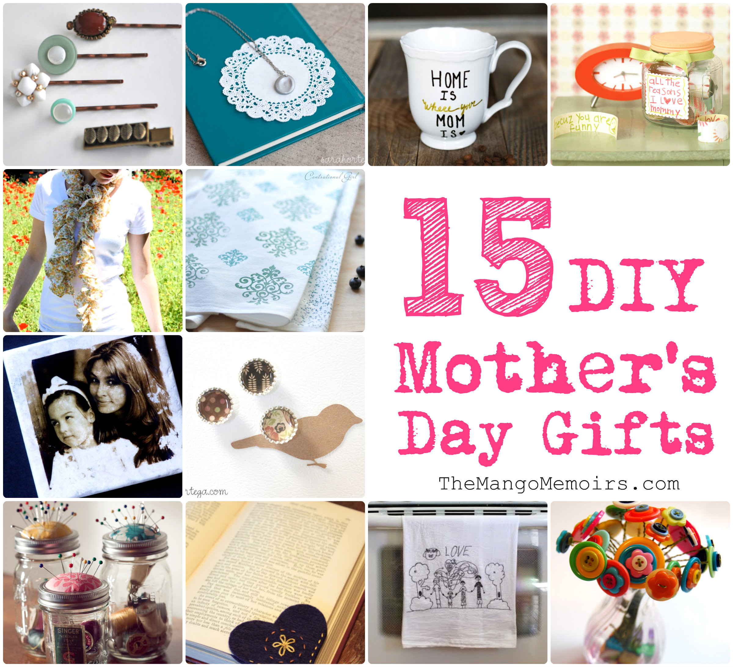 Best ideas about Mother'S Day Gift Ideas Diy . Save or Pin inspired DIY Gifts for Mother's Day Now.