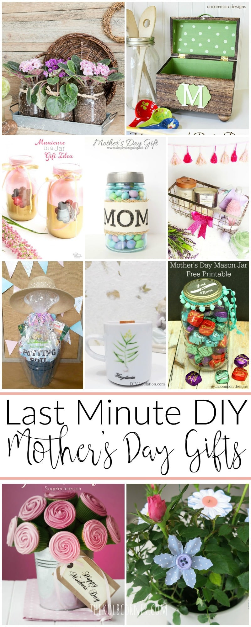 Best ideas about Mother'S Day Gift Ideas Diy . Save or Pin Last Minute DIY Mother s Day Gift Ideas Now.