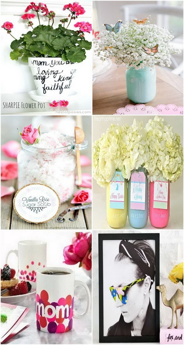 Best ideas about Mother'S Day Gift Ideas Diy . Save or Pin 20 Thoughtful DIY Mother s Day Gifts For Creative Juice Now.