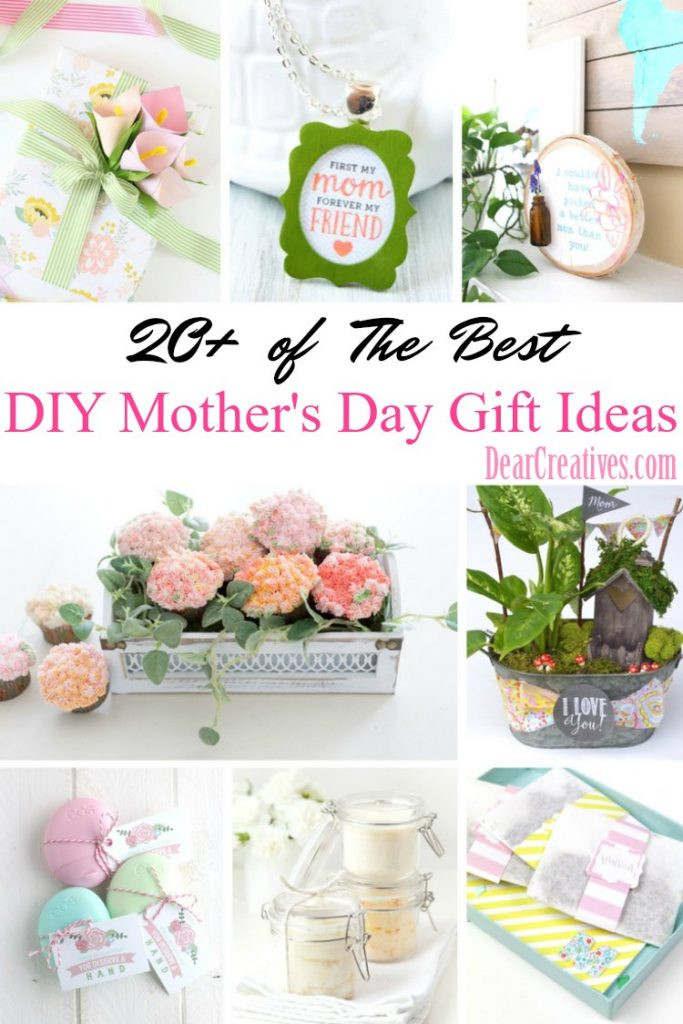 Best ideas about Mother'S Day Gift Ideas Diy . Save or Pin DIY Mother s Day Gifts Now.