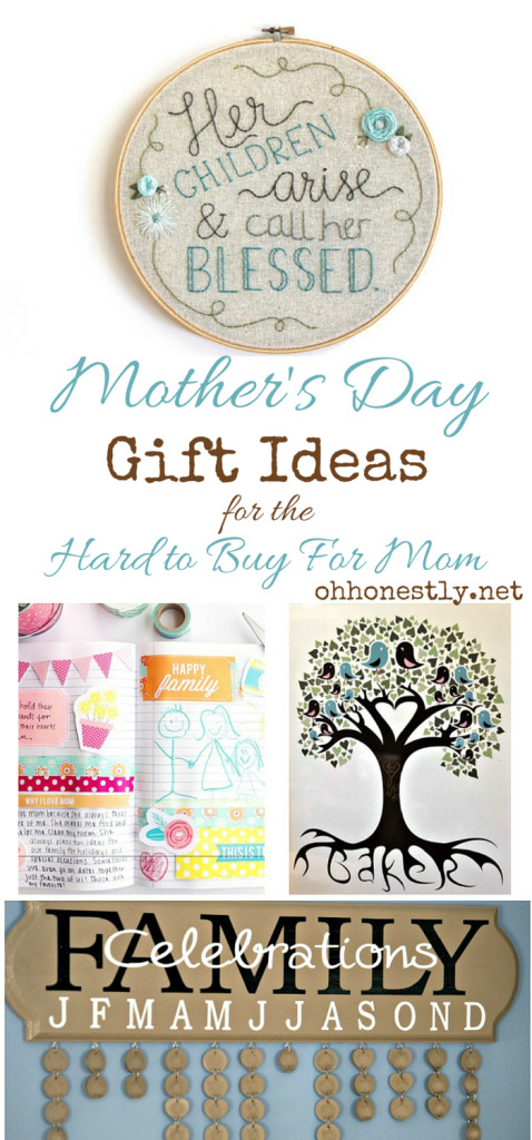 Best ideas about Mother'S Day Gift Ideas For Hard To Buy . Save or Pin Mother s Day Gift Ideas for the Hard to Buy For Mom Now.