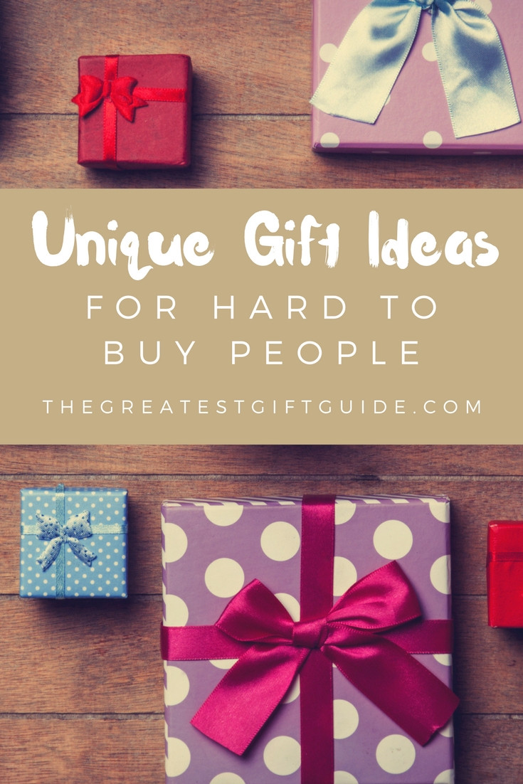 Best ideas about Mother'S Day Gift Ideas For Hard To Buy . Save or Pin 15 Unique Gifts For Hard To Buy People The Greatest Gift Now.