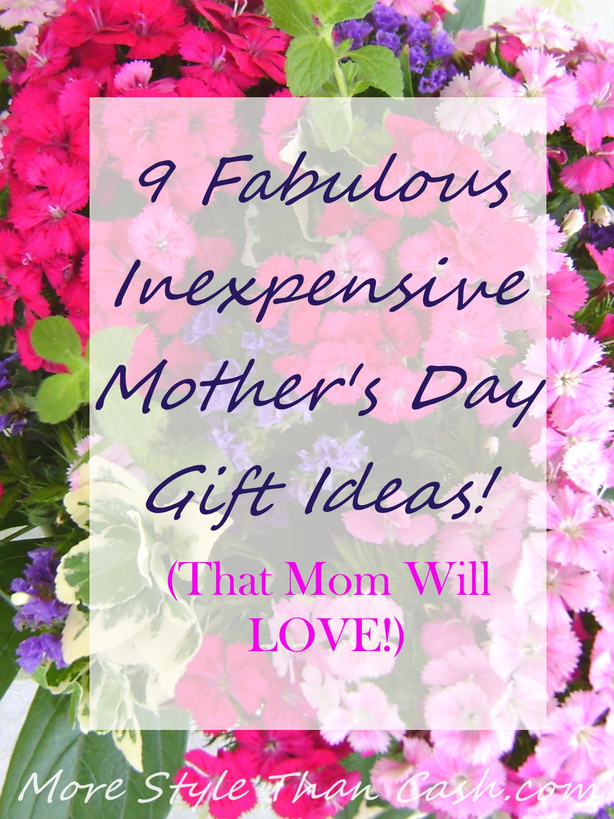 Best ideas about Mother'S Day Gift Ideas For Hard To Buy . Save or Pin Longest Lasting Inexpensive Cut Flowers Now.