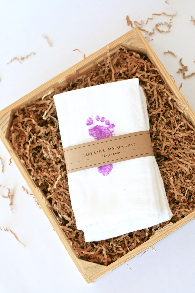 Mother'S Day Gift Ideas From Baby  Baby s First Mother s Day Gift Idea Paging Supermom