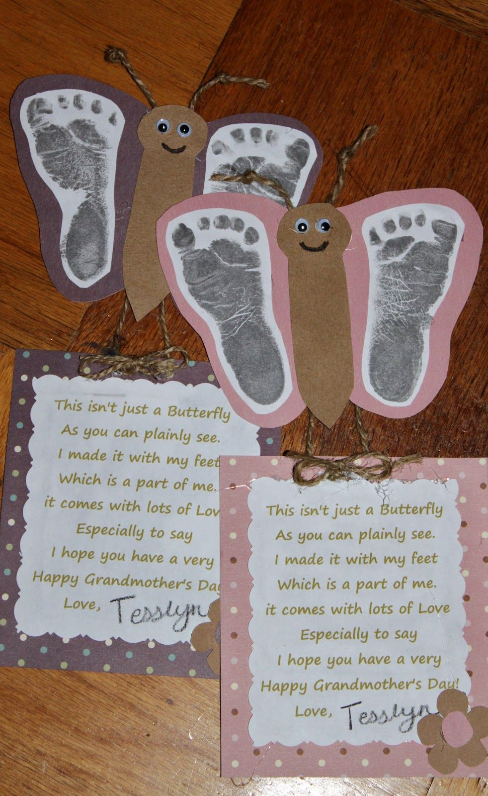 Mother'S Day Gift Ideas From Baby  Gift for parent or grandparent