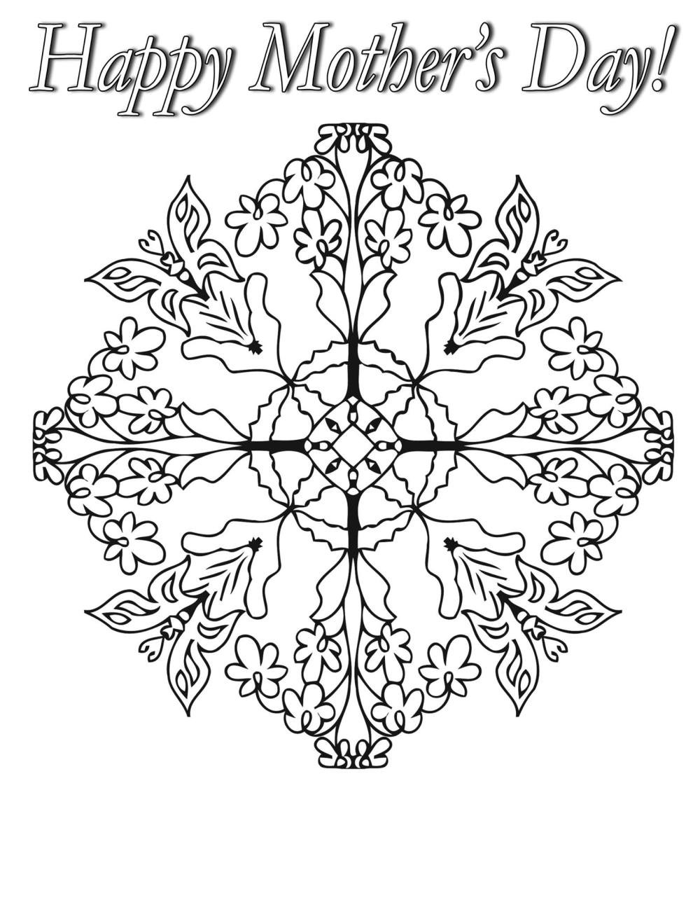 Mothers Day Coloring Pages For Adults  Southwest Coloring Pages Free Coloring Home