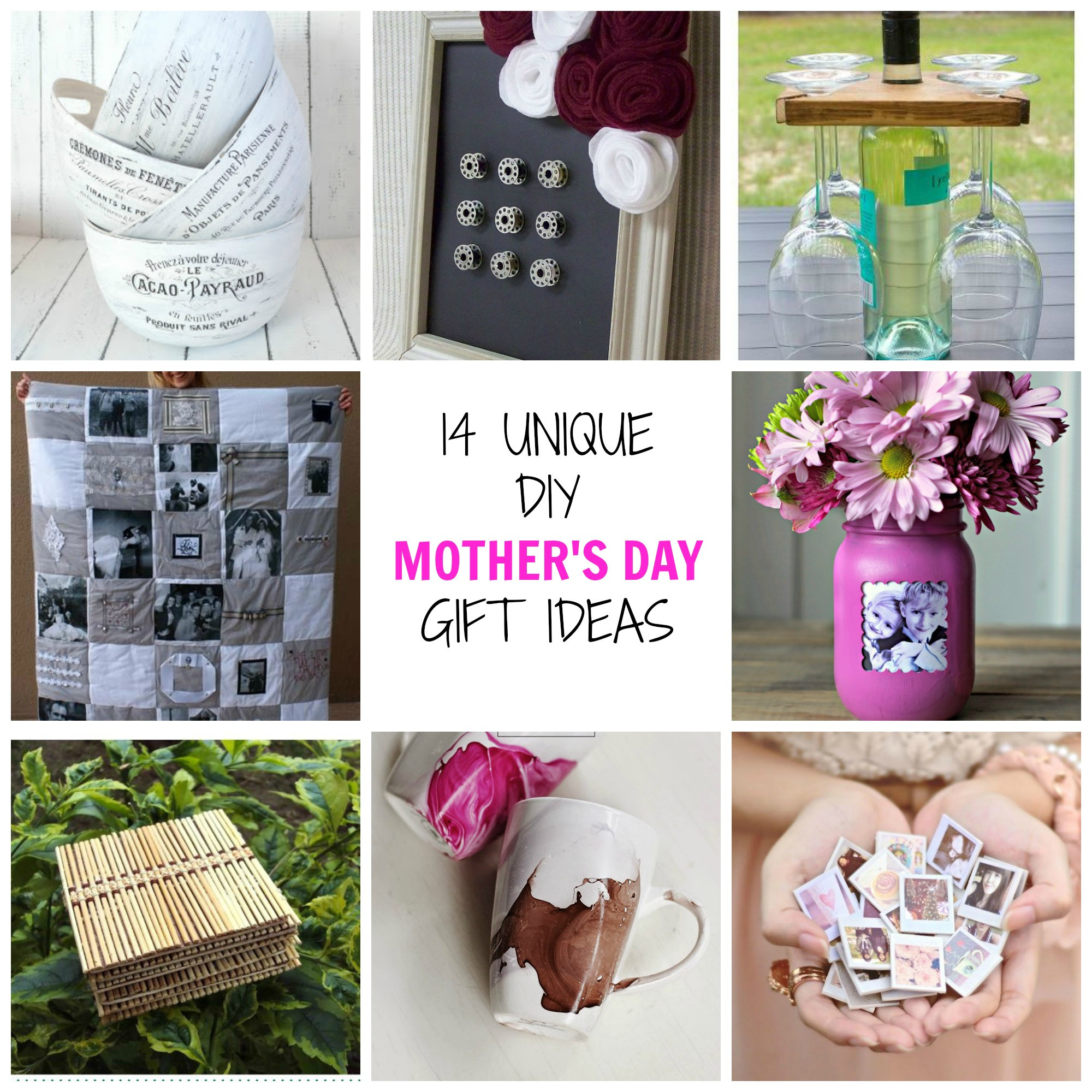 Best ideas about Mothers Day Unique Gift Ideas . Save or Pin 14 Unique DIY Mother s Day Gifts Simplify Create Inspire Now.