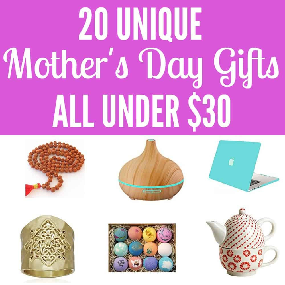 Best ideas about Mothers Day Unique Gift Ideas . Save or Pin 20 Unique Mother s Day Gift Ideas All Under $30 The Now.