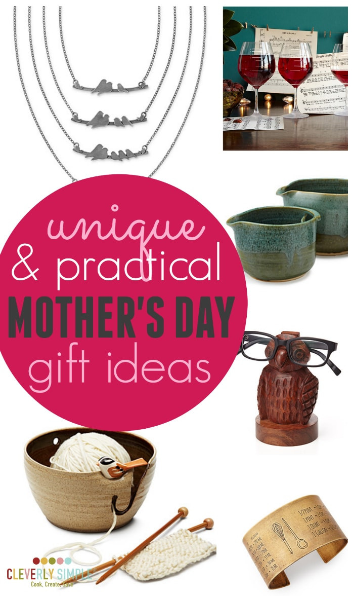 Best ideas about Mothers Day Unique Gift Ideas . Save or Pin Unique & Practical Gifts For Mother s Day Cleverly Simple Now.