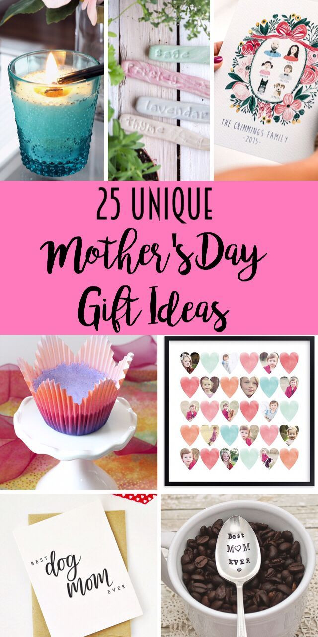 Best ideas about Mothers Day Unique Gift Ideas . Save or Pin 198 Best images about for mom on Pinterest Now.