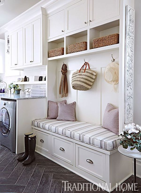 Best ideas about Mudroom Laundry Room Ideas . Save or Pin Vision for the Kitchen A Mudroom Entrance The Inspired Now.