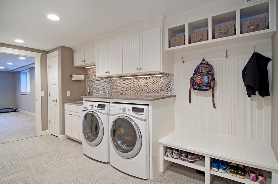 Best ideas about Mudroom Laundry Room Ideas . Save or Pin 25 Space Saving Multipurpose Laundry Rooms Now.