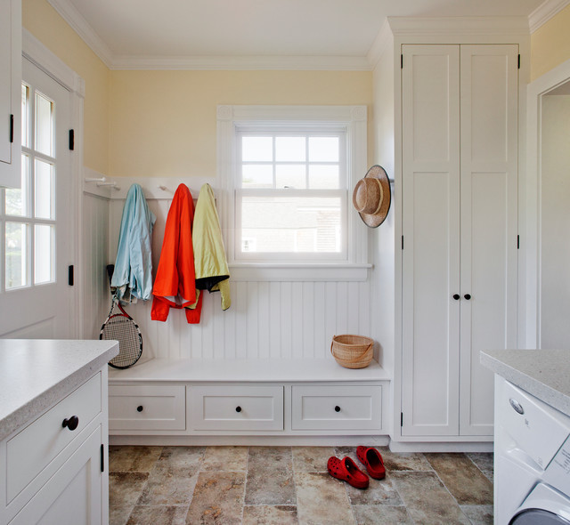 Best ideas about Mudroom Laundry Room Ideas . Save or Pin Harbor View Mudroom Laundry Room Traditional Laundry Now.