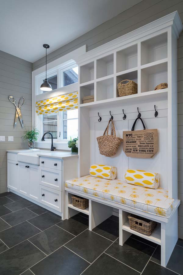 Best ideas about Mudroom Laundry Room Ideas . Save or Pin 55 Absolutely fabulous mudroom entry design ideas Now.