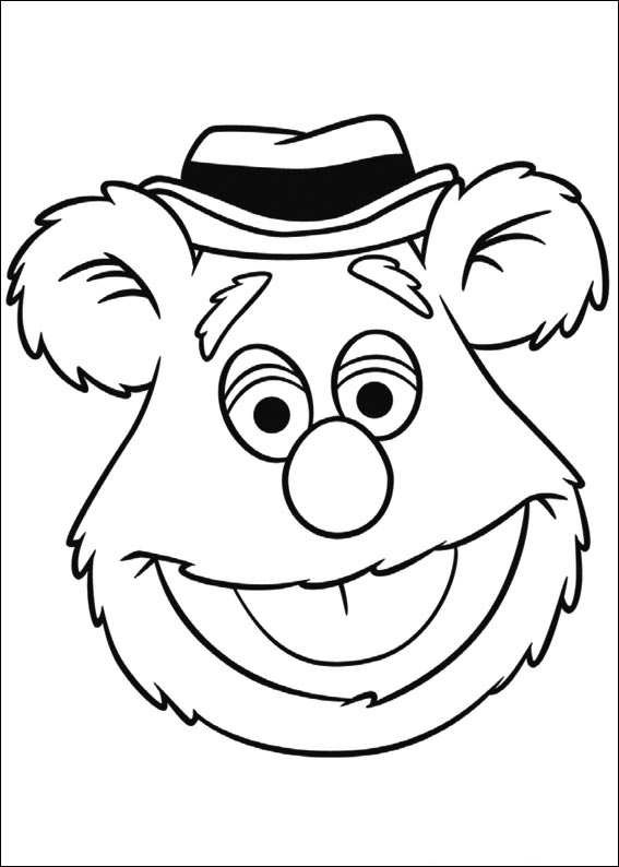 Muppets Coloring Book Pages  Kids n fun