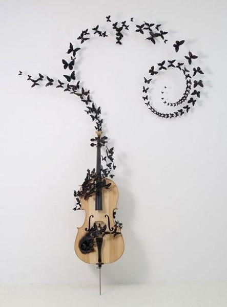Best ideas about Music Crafts For Adults . Save or Pin cheap home decorations paper craft ideas for kids and Now.