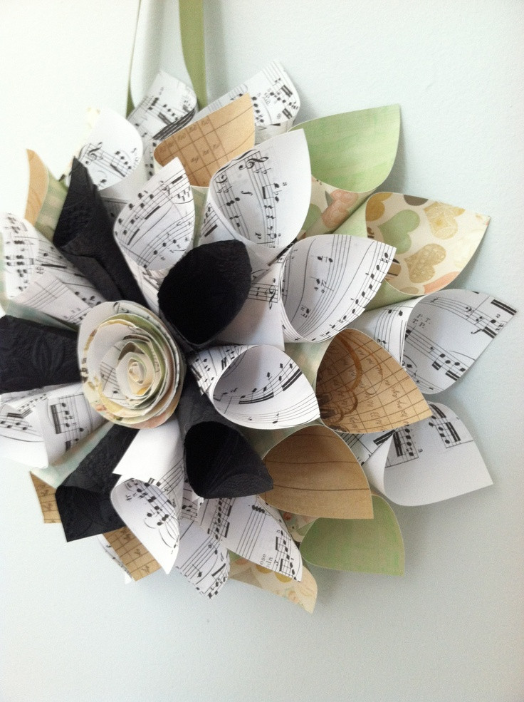 Best ideas about Music Crafts For Adults . Save or Pin 17 Best images about music paper crafts on Pinterest Now.